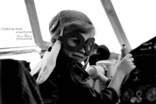 Фотоотчет с массовой фотосессии Под крылом самолета